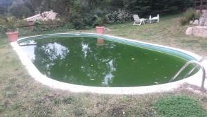 Reparacion de piscina - lista para vaciar
