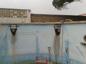 Reparación de piscina - cambio de skimmers