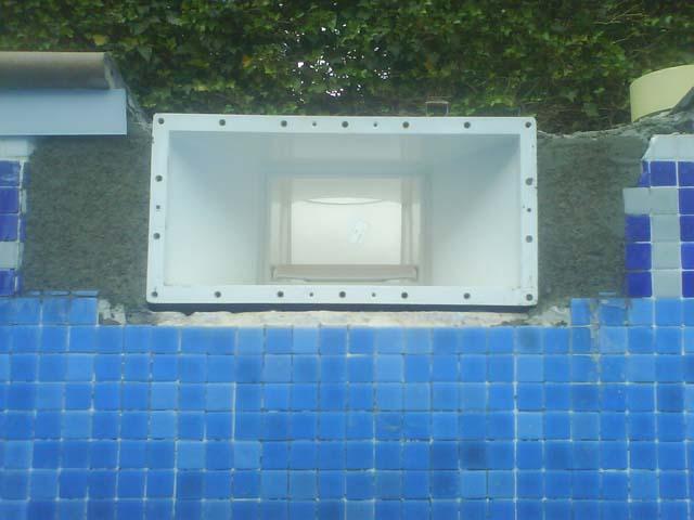 Substitucion skimmer liner piscines bravi s l for Reparacion piscinas
